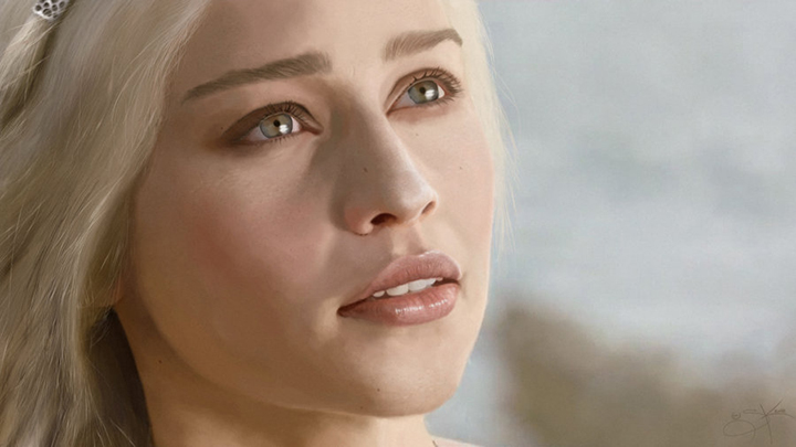 digital_painting__daenerys_targaryen_by_skartistic-d529bmq