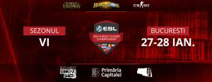 Concurenti din 6 tari se vor lupta pentru 11.000€ in fazele finale ale turneelor ESL de CS:GO, LoL si Hearthstone la Bucharest Gaming Week