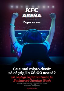 KFC Arena, competitie la nivel national de  CS:GO